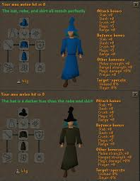 suggestion darken the black wizard robe s color to match the