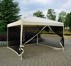Patio Gazebo 10 X 10 by 10 10 Gazebo With Netting Blitz Host