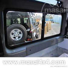 toyota land rover defender sliding masai panoramic tinted windows for land rover defender 90