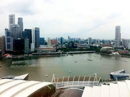 marina bay sands hotel at singapore