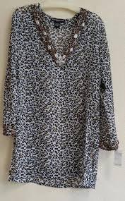 stein mart blouses leopard print blouse xl steinmart