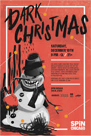 dark christmas in chicago at spin