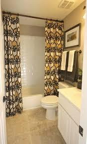 bathroom shower curtains ideas shower curtain rod bathroom cintascorner