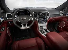 jeep car inside jeep grand cherokee trackhawk official pistonheads
