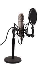 microphone de bureau microphone de condensateur de bureau image stock image 30112427