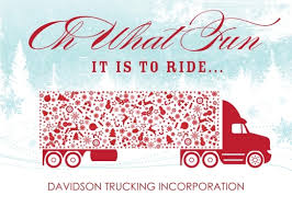 Christmas Cards Business Trucking Along Holiday Card Business Christmas Cards
