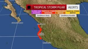 Manzanillo Mexico Map by Tropical Storm Warning For Puerto Vallarta Expired