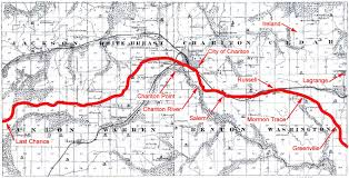 John Wayne Pioneer Trail Map The Lucas Countyan Headlong Down The Mormon Trace