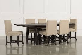 Black Dining Room Table And Chairs by Jaxon 7 Piece Rectangle Dining Set W Upholstered Chairs Living