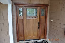 White Front Door Modern White Residential Front Doors And Craftsman Style Fir Grain