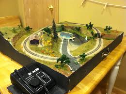 table top train set tabletop layout for a closet model railroader fcflrailway