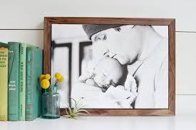 wood canvas diy framed photo canvas