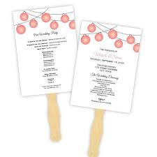 wedding fans template 52 best wedding program templates diy images on