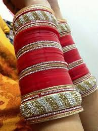 punjabi wedding chura 32 best wedding chura images on bangles in india and