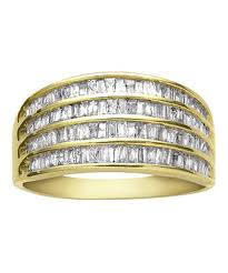 washington dc wedding bands yellow gold baguette diamond wedding rings washington dc the