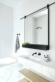black framed bathroom mirrors new black framed bathroom mirror clearly on custom frames ideas