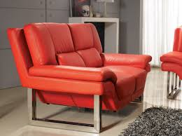 Red Leather Sofa Sets New York Modern Red Sofa Set
