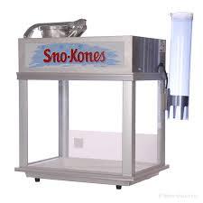 snow cone machine rental deluxe sno konette snow cone machine 1 800