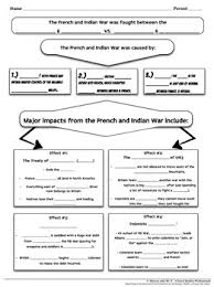 french and indian war worksheets phoenixpayday com