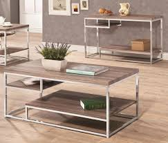 furniture appealing square reclaimed wood coffee table with iron