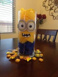 minions centerpieces minion centerpiece found goggles at party city ideas
