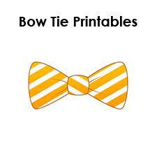 paper bow tie template printable baby a pinterest paper bows