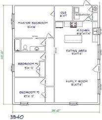 40x30 Floor Plans Google Search Floor Plans Pinterest 20x20 Home Plans