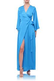 light blue silk dress light blue silk wrap dresses shahida shahida parides