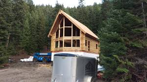 log home construction brookstyle construction