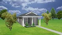 Small Mother In Law House Small House Plans Cottage Plans Mother In Law Homes Guest House