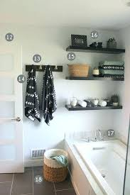 Decorate Bathroom Shelves Modern Bathroom Shelves This Pin Was Discovered By House Of