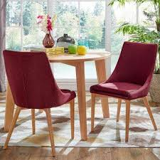 Red Dining Chairs  Benches Kitchen  Dining Room Furniture - Red dining room chairs