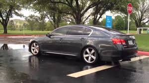 lexus gs430 wheels video of recently dropped gs430 youtube