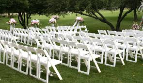 white wedding chairs resin folding chair for ceremony jpg