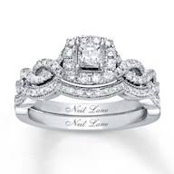 neil bridal set engagement rings wedding rings diamonds charms jewelry from