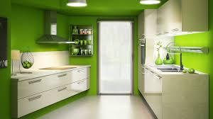 couleur actuelle pour cuisine la couleur verte a t sa place dans une cuisine mur vert