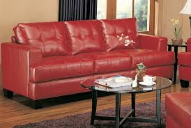 Red Sofa Set by Amazon Com Coaster Home Furnishings Casual Contemporary Sofa Red