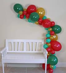 balloon garland christmas balloon garland green gold the party postman