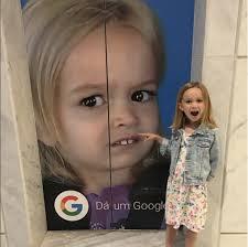 Blonde Meme - charlie bit me and side eyeing chloe viral meme kids all grown