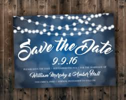 affordable save the dates lights save the date etsy