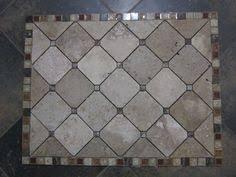 Tile Medallion Backsplash by Details About Copper Slate Mosaic Backsplash Medallion Marble
