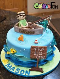 fishing cake ideas fishing for birthday cakecentral