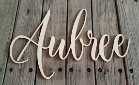 wooden name name wall hanging nursery wall hanging