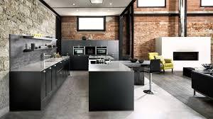 cuisine noir mat cuisine noir mat charmant du noir mat un plan de travail minéral le