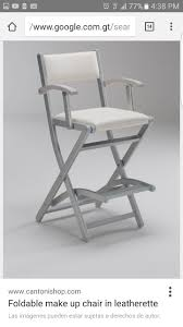 portable makeup chair with side table 22 best make up chairs images on pinterest makeup chair
