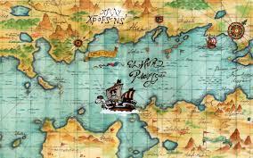 One Piece Map World Voyage 1440 X 900 Wp By Shishioh On Deviantart