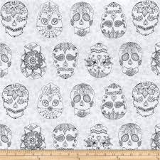 day of the dragonfly color me sugar skulls white black discount