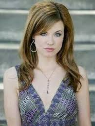 melanie from days of our lives hairstyles really like her bangs and the style of her hair this is molly