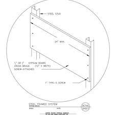 design of light gauge steel structures pdf usg design studio steel header download details
