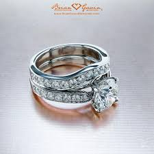 curved wedding band to fit engagement ring 5 ways to match your wedding band and engagement ring